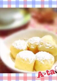 余った卵白de簡単♡粉雪みたいな白ケーキ