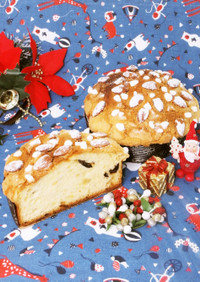 クリスマスに!天然酵母パン風ベネチアーナ
