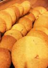 レモンピールのサクサククッキー