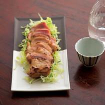 鶏肉のカリカリ焼き・ゆずこしょう風味