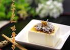 豆腐としらすと一味唐辛子(七味唐辛子)