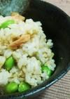 鮭と枝豆の☆簡単☆混ぜご飯