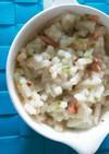 白菜と鮭のクリーミーうどん離乳食