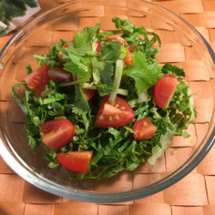 エコ☆葉物野菜の外葉のサラダ
