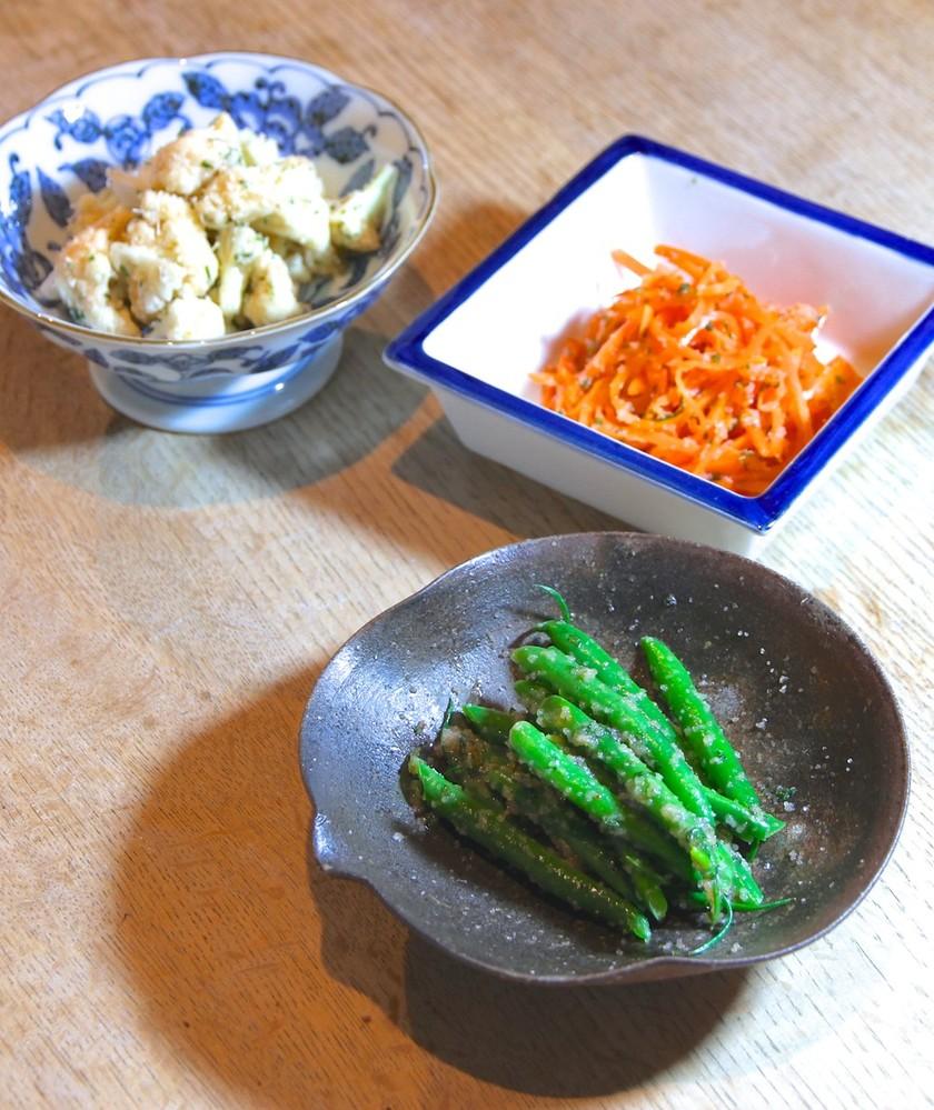 和美食 5分で魔法のたらこサラダ三種