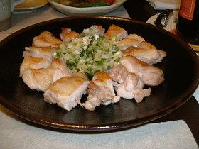 鶏肉のソテー こく旨ねぎ塩ソース