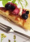 簡単♡HMでパインのタルトタタンケーキ♡