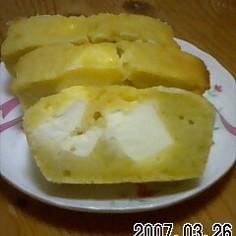 素朴な味わいのチーズケーキ!