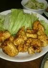 鶏のササミのタンドリーチキン風