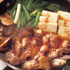 とりと豆腐のすき煮