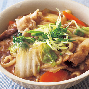 豚と白菜の中華煮込みうどん