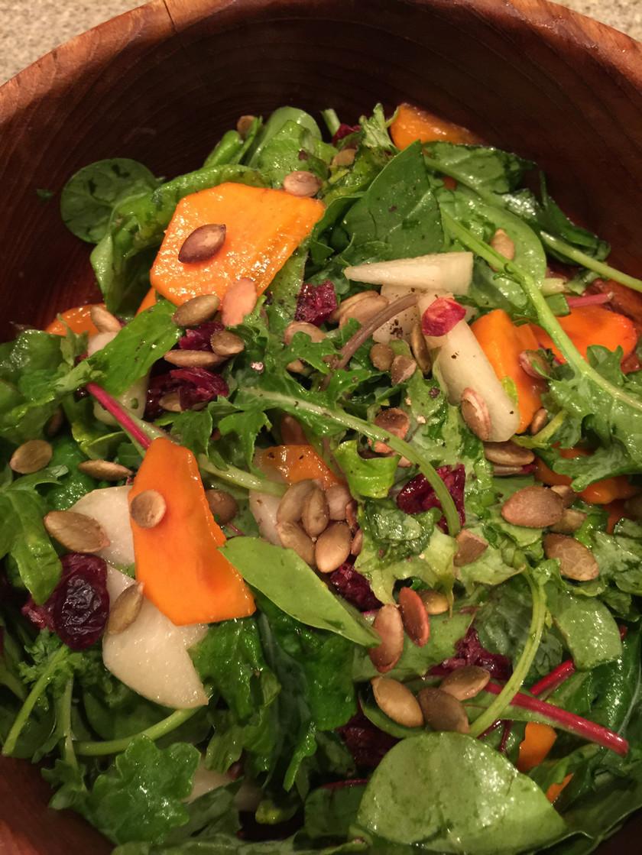 柿と梨のAutumnサラダ