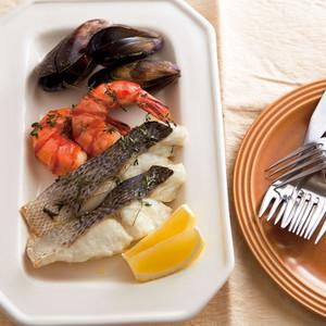魚介類のハーブ焼き