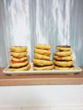 木綿豆腐とHM でほわほわぁホットケーキ