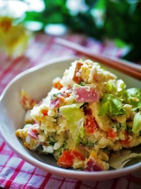 マヨ少なめ☆具だくさん☆ポテトサラダ