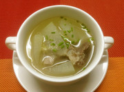 冬瓜スペアリブスープ(冬瓜排骨湯)の写真