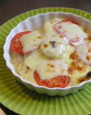 ニセコ産塩トマトとじゃがいものグラタン♪の写真