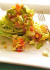 レタス丸ごと消費★簡単サラダ