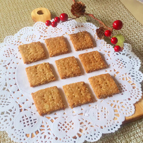 バター無し*オートミール&全粒粉クッキー