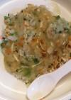 離乳食*ご飯と野菜のお焼き~あんかけ~