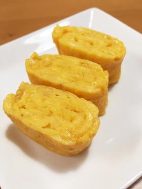 卵1つ☆丸いフライパンで卵焼き b...
