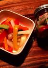 常備菜にも☆カラフル野菜のピクルス