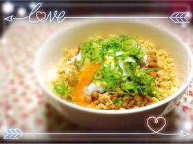 豆腐そぼろde健康ダイエット丼♡