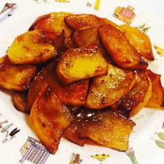 アメリカレシピ〜りんごのソテー♡