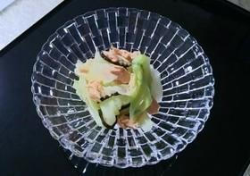 低糖質レシピ☆キャベツの和風ツナサラダ