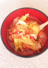 シーチキンと野菜たっぷり♪食べるスープ