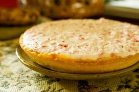 ドライいちごdeいちごレアチーズケーキ