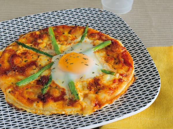 ビスマルク風ピザ