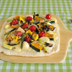 菜園風グリルピザ