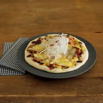 焼き豚の中華風ピザ