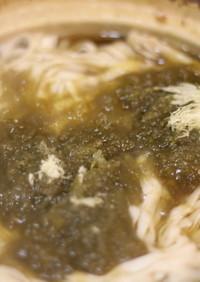 糖質0g麺のレモン鍋風煮込み