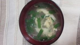 シャウタンでもやしとニラと卵の簡単スープ
