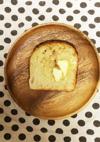 パウンド型で*捏ねないデイリー食パン*