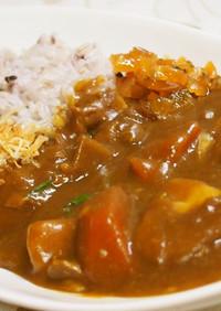 ♡大豆のお肉で和風根菜カレー(≧▽≦)♡
