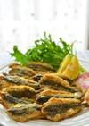 トルコ料理☆カタクチイワシのフライ