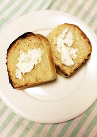 捏ねない*オリーブオイル食パン*