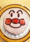 2歳バースデーケーキ☆アンパンマン☆簡単