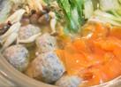 秋刀魚のつみれ団子鍋