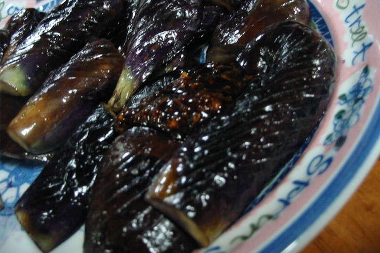 ガーリック 焼き の なす 醤油