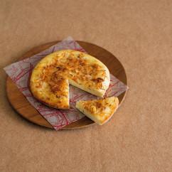 ココナッツとアーモンドのピザ