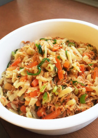 常備菜にも◉中華風切り干し大根の炒め煮