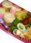 ロールサンドイッチのお弁当☆