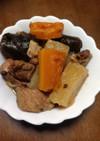 豚肩ロース塊と大根の煮物(圧力鍋)
