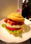 ☆ラードマフィンでチキンバーガー☆