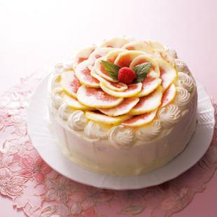 イチジクのショートケーキ