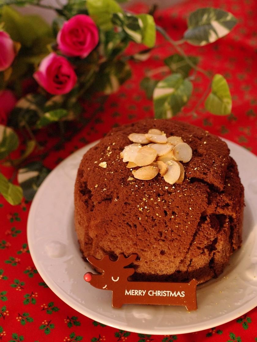 濃厚ガナッシュのチョコケーキ☆クリスマス